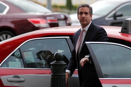 特朗普私人律师迈克尔・科恩