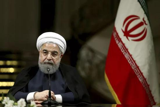 伊朗总统鲁哈尼(资料图)