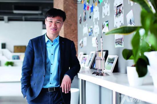 零壹空间CEO舒畅  图 / 本刊记者 梁辰
