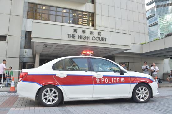 警方接手处理陪审团受威胁一事(图:港媒)