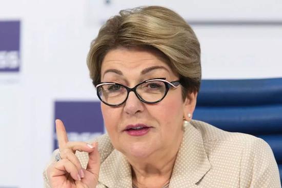 俄罗斯形象宣传的组织领导人 Eleonora Mitrofanova
