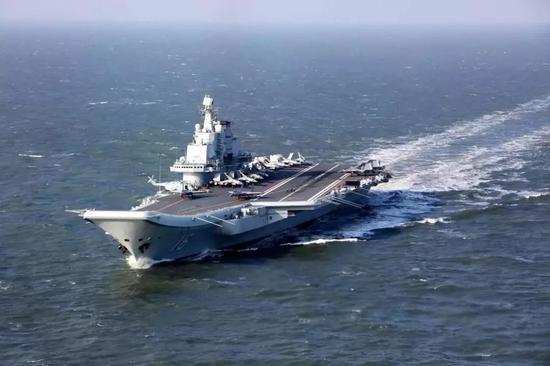 ▲资料图片:2016年12月下旬,中国海军航母编队执行跨海区训练和试验任务。