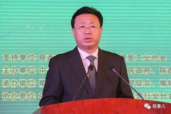 陕西榆林前市委书记胡志强。图片来自网络