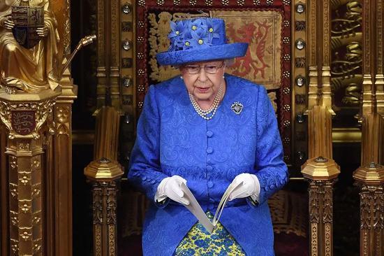 ▲英国女王伊丽莎白二世(盖帝图像)