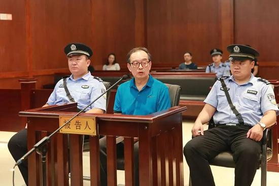 """庭审现场。 本文图片均来自""""山东省人民检察院""""微信公众号"""