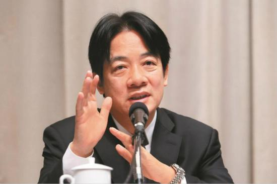 台行政机构负责人赖清德(图:台湾《联合报》)