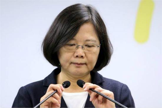 台湾地区领导人蔡英文(图:台媒资料图)
