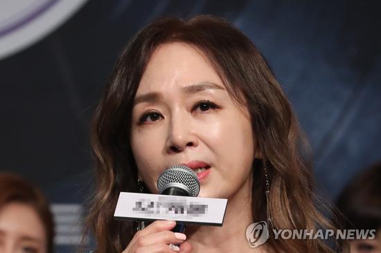 韩国女演员朴海美(韩联社)