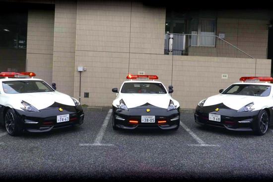 日本警车(资料图:日媒)
