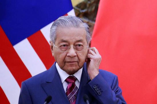 马来西亚总理马哈蒂尔/图片来自新加坡海峡时报