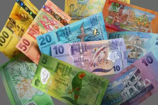 ▲德拉魯公司印刷的斐濟貨幣 圖據德拉魯官網