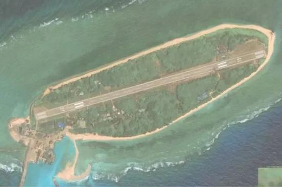 ▲太平島(圖片源自臺媒)