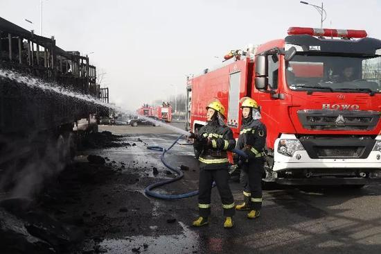 张家口爆炸事故已致23人死亡 初步原因查明