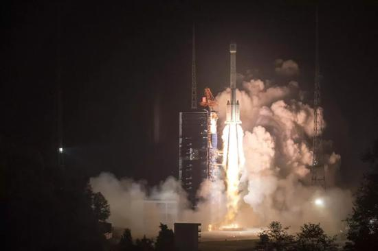"▲ Photo: November 19, China used the Long March 3B launch vehicle (and the top level of Expedition No. 1) at the Xichang Satellite Launch Center to successfully launch the 42nd and 43rd Beidou in ""One Arrow and Double Star"" mode. Navigation satellite. (Xinhua News Agency)"