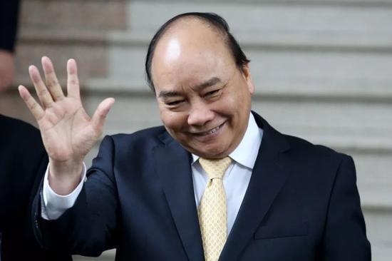 ▲越南总理阮春福(视觉中国)