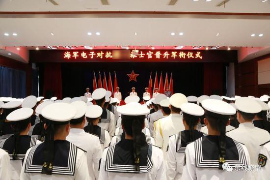 ▲东部战区海军某电子对抗旅。