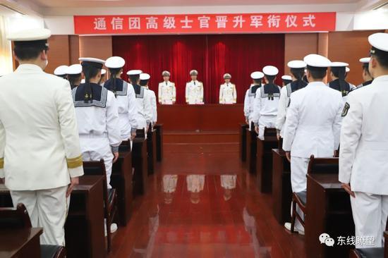 ▲东部战区海军某通信团。