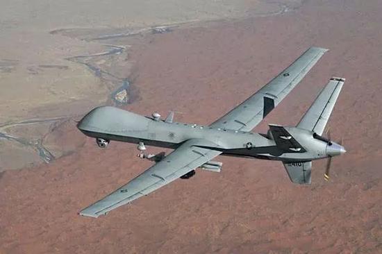 ▲美国MQ-9无人机