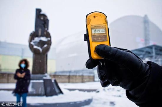 ▲资料图片:2015年12月1日,乌克兰,切尔诺贝利核电站。