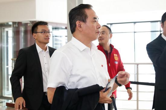 中国足协将换届 上任足协主席蔡振华或缺席足代会