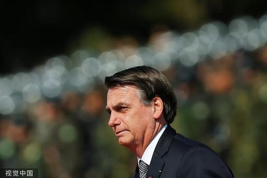 巴西总统博尔索纳罗。