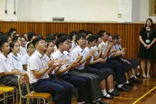 开教仪式现场。