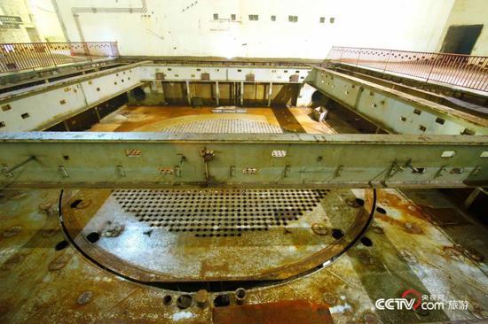 (图为816核工程核反应堆大厅 图源:央视网)