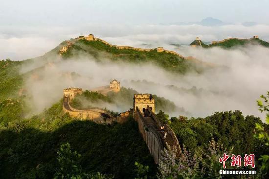 """""""光头刘Sir""""期待北京行:走一走长城做一做好汉"""