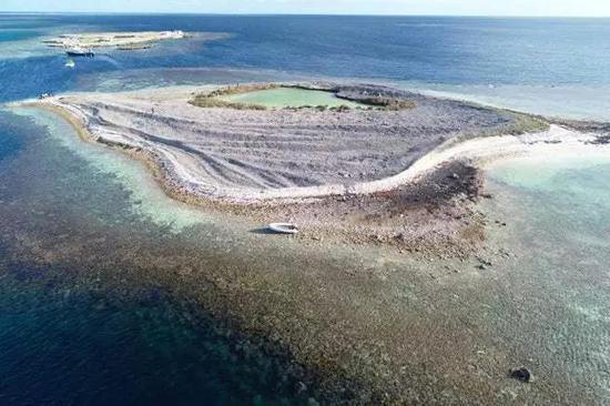 ▲伯顿岛,材料图