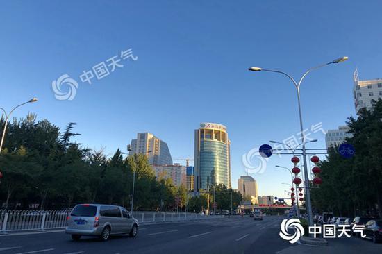 今天北京最高气温降至24℃ 凉意愈加明显