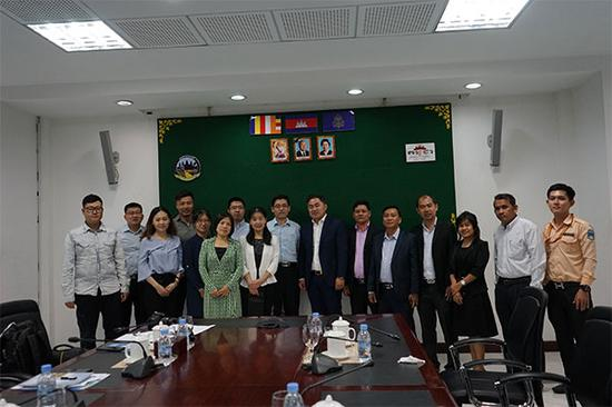 中国—东盟中心组织媒体代表团 赴柬埔寨考察采风