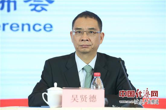 福建省文化和旅游厅厅长吴贤德 中国经济网记者张相成/摄