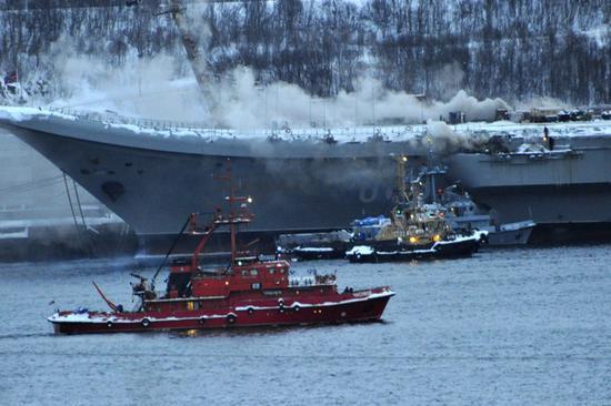 唯一航母又起火 海军已跟不上普京的大国雄心?