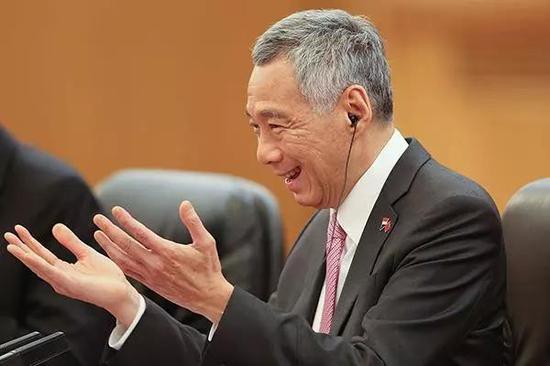 ▲资料图。新加坡总理李显龙。图片来自视觉中国。