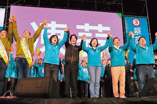 2020选前终局之战 韩国瑜坐镇高雄蔡英文南北赶场|蔡英文|高雄