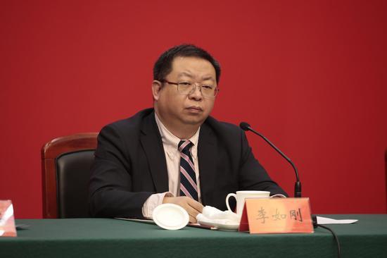 北京市城市管理委员会副主任李如刚。摄影/新京报记者 王嘉宁