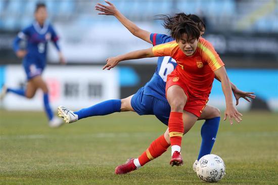 图说:中国女足原本在武汉主场争夺奥运会门票。