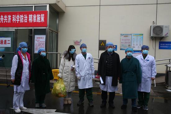 北京大兴区已有16名新冠肺炎患者治愈出院图片
