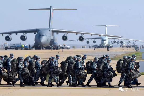 """在战""""疫""""关键时刻 人民子弟兵再次挺身而出应声答""""到""""!图片"""