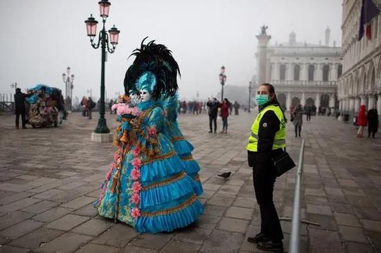 威尼斯狂欢节被紧急叫停(图源:外媒)