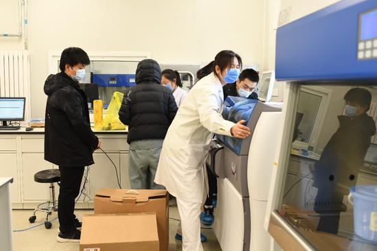 北京小汤山医院医疗设备就位 最后一批医疗仪器15日完成现场检测图片