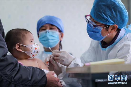 北京:全面有序开展预防接种工作图片