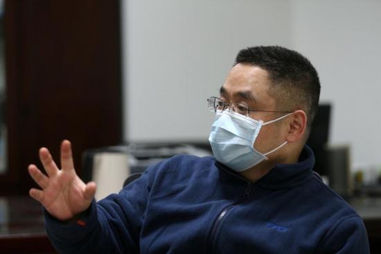 专访武汉市肺科医院院长:我们从未缺过物资图片