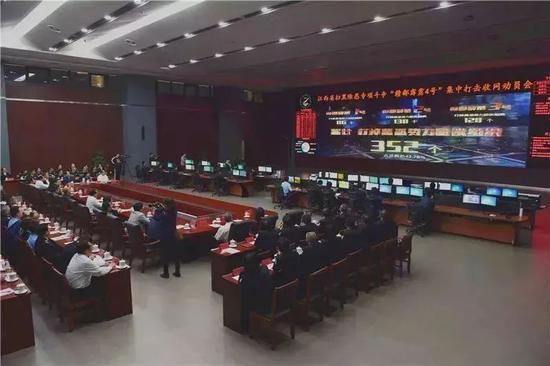 那场动员会,包括省委常委、政法委书记尹建业在内江西省政法系统主要领导悉数出席。