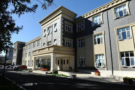 △全国友协办公楼,这里曾是清朝末年的意大利使馆