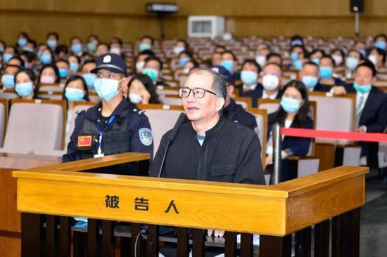 许雷受审 图源:云南省纪委监委网站