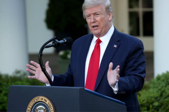 美国总统特朗普(图源:Getty)