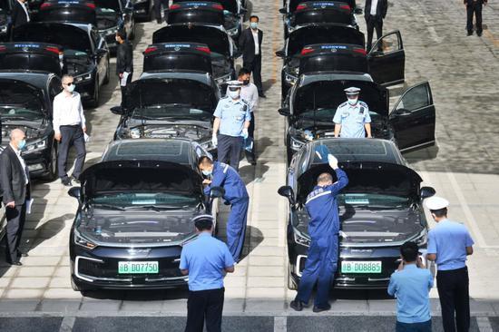 【杏悦平台】国杏悦平台两会用车10日全面体图片