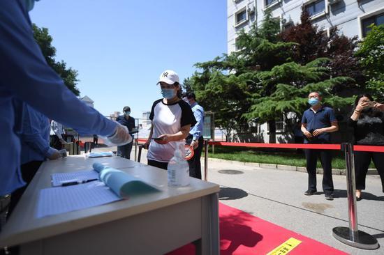 6月6日前,93所在京高校都将开展返校复课演练图片
