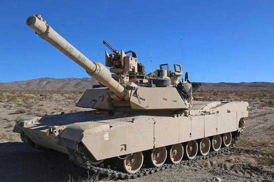 台湾方面一直希望采购的美制M1A2主战坦克
